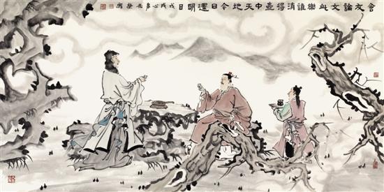 """去看朱光荣近作展——""""画予文心"""""""